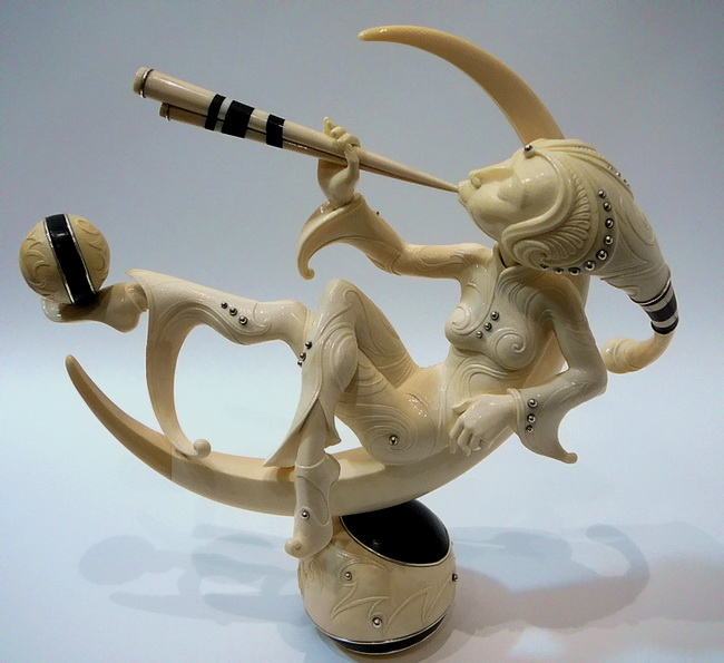 фигурка из кости мамонта откуда